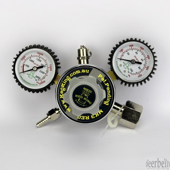 MK4 Gas Regulator CO2,  (0-50psi)