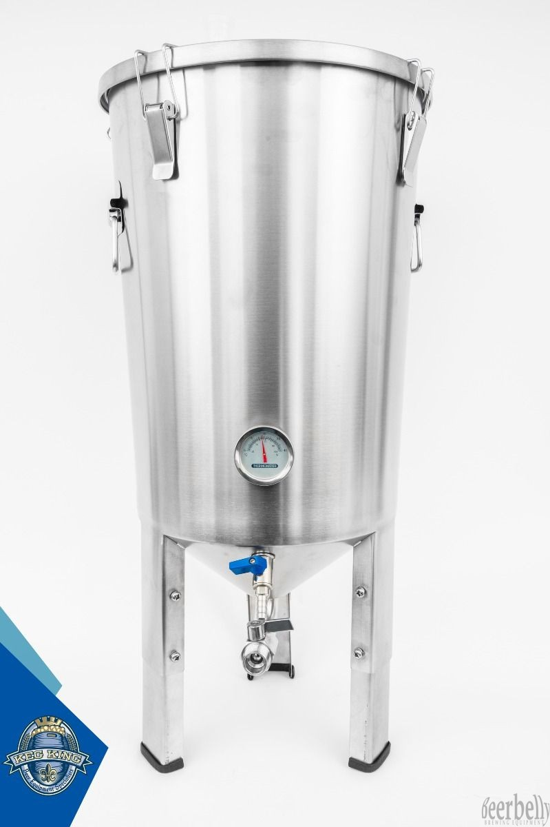 Guten 30L Conical Fermenter Stainless Steel Gen 2