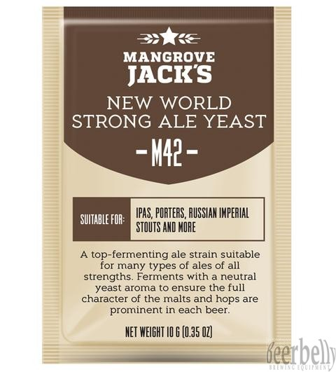 Mangrove Jacks M42 New World Strong Ale Yeast