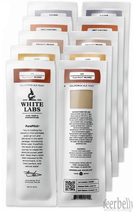 WLP067 Coastal Haze Ale Yeast Blend®