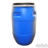 100lt Barrel Blue Plastic