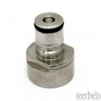 Gas Ball Lock Post with 5/8' Thread for Coupler