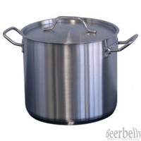 STOCK POT 12lt Stainless Robinox